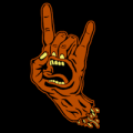 Santa Cruz Rock Hand