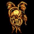 Snake Through Skull