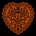 Doily Heart 01