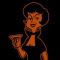 Retro Vamp Woman