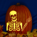 Waving Skeleton CO