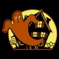 Vintage Ghost House