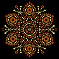 Circle Snowflake