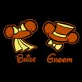 Disney Bride and Groom