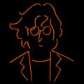 John Lennon Doodle