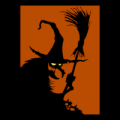 Witch Silhouette 02