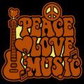 Peace Love Music 01