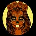 Day of the Dead Woman 02