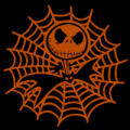 Jack Skellington Spider Web 02
