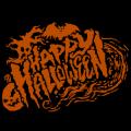 Happy Halloween Sweeping Text