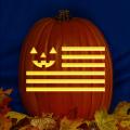 Pumpkin Flag CO
