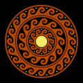 Ancient Greek Mandala