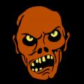 Zombie Head 03