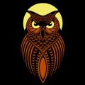 Stylized Owl 03