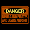 Danger Ninjas and Pirates