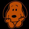 Peanuts Snoopy Sitting 03