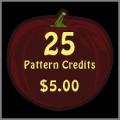 25 Pattern Credits