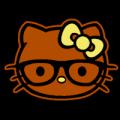 Hello Nerdy Kitty