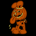 Odie Inside Pumpkin