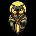 Stylized Owl 01